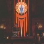 """Banner der Pah-Geister: Verwendungin der Serie (DS9 7.09 """"Entscheidung auf Empok Nor"""")"""
