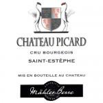 Chateau Picard: Etikett des echten Weinguts