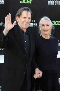 """Leonard Nimoy und seine Frau Susan Bay bei der L.A. Premiere von """"Star Trek Into Darkness"""" 2013"""