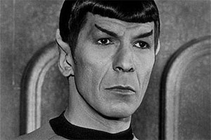 Leonard Nimoy als Mr. Spock in Star Trek Classic