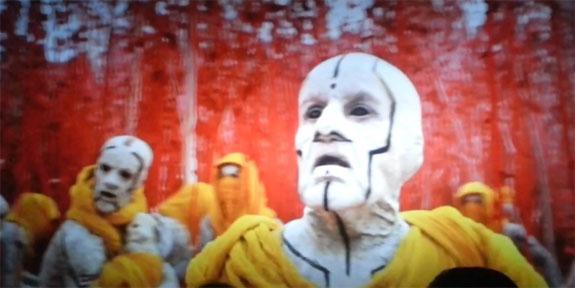 Star Trek Into Darkness: Jeremy Raymond als der Anführer der Nibirianer