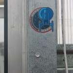 NX-01 Enterprise-Patch auf dem Studiogelände