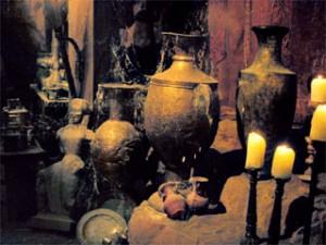 Vulkanische Artefakte