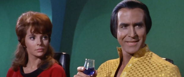 Star Trek: Staffel 1, Episode 22: Der schlafende Tiger (Space Seed) - Marla McGivers und Khan
