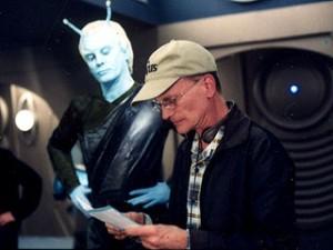 Star Trek Enterprise, Episode 4.13: Vereinigt (United) - Jeffrey Combs mit Regisseur David Livinston